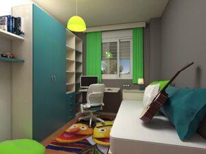 Design kamar kost minimalis